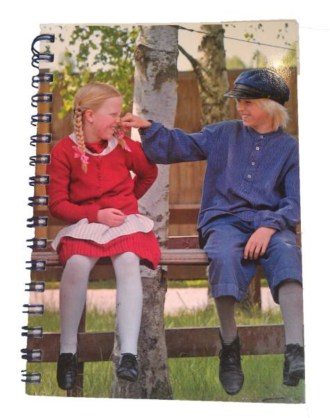 Notebook That Emil and Ida in the group Books  / 6-9 Year at Astrid Lindgrens Värld (2711010001380)