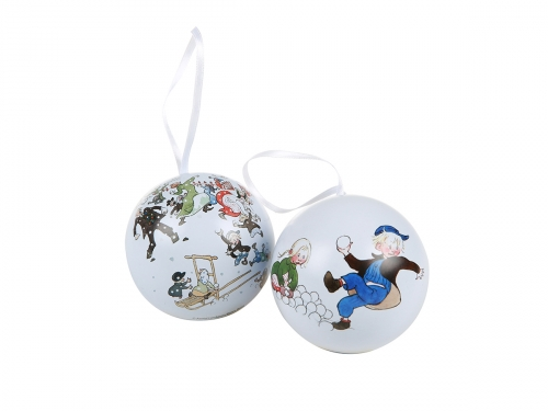 Christmas balls Emil, 2-pack in the group Home / Decoration at Astrid Lindgrens Värld (6416550358401)