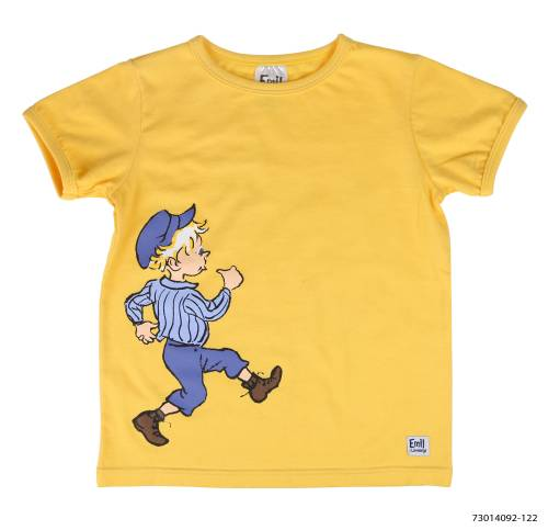 T-shirt That Emil, yellow in the group Clothes / T-shirt / Tops at Astrid Lindgrens Värld (6416844748208-1)