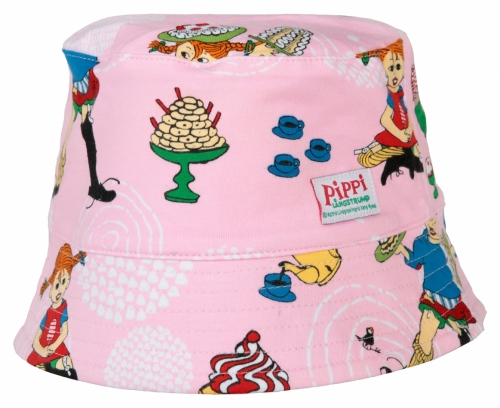 Sunhat Pippi - Party, pink in the group Clothes / Accessories / Hats at Astrid Lindgrens Värld (73039123)