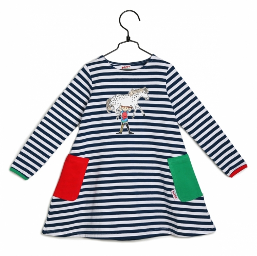 Dress Pippi Longstocking - Striped in the group Clothes / New arrivals at Astrid Lindgrens Värld (73078086)