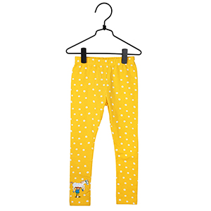 Speckled Leggings yellow in the group Clothes / Leggings at Astrid Lindgrens Värld (73096550)