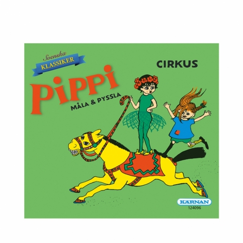 Activitybook Pippi mini - Circus in the group Tip / Christmaspresents / Christmas at Astrid Lindgrens Värld (7317441240968)