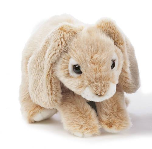 Rabbit cuddly toy, beige, 24 cm in the group Characters  / Children in the noisy village at Astrid Lindgrens Värld (7331626121972)