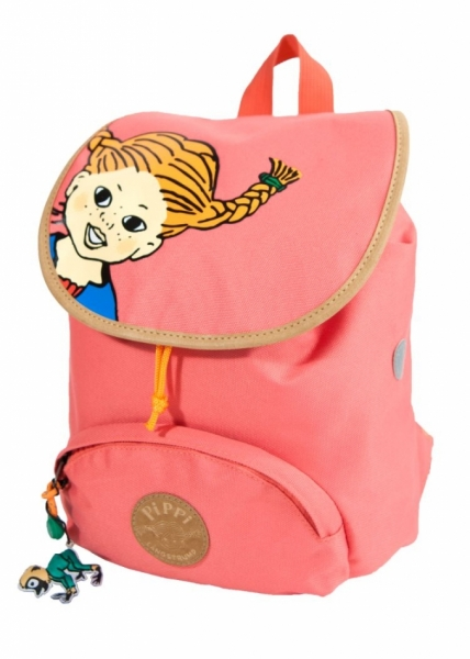 Flap Backpack pink Pippi longstocking in the group Tip / Christmaspresents at Astrid Lindgrens Värld (7340076058073)