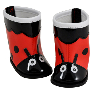 Skrållan ladybird boots  in the group Characters  / Seacrow Island  at Astrid Lindgrens Värld (7391256032017)