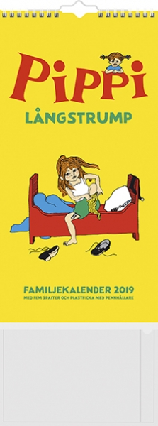 Family calender Pippi 2019 in the group Books  / Book accessories at Astrid Lindgrens Värld (7392620174395)