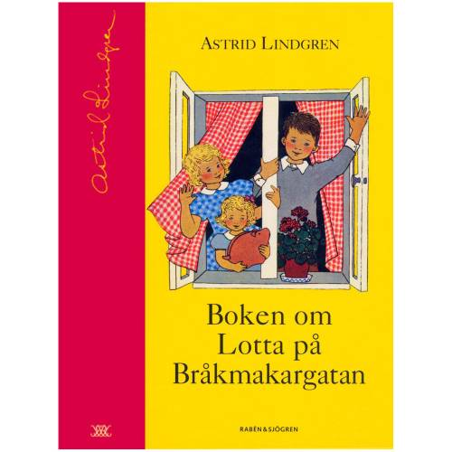 Boken om Lotta på Bråkmakargatan (in Swedish) in the group Books  / Collection books at Astrid Lindgrens Värld (9789129663884)