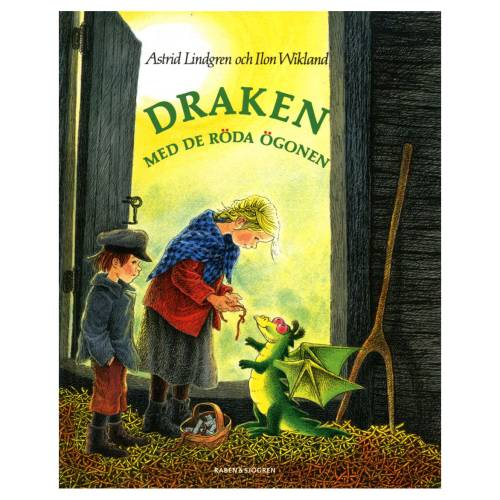 Draken med de röda ögonen (in Swedish) in the group Books  / 3-6 Year at Astrid Lindgrens Värld (9789129674651)