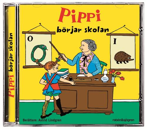 Pippi börjar skolan (in Swedish) in the group Characters  / Pippi Longstocking at Astrid Lindgrens Värld (9789129697018)