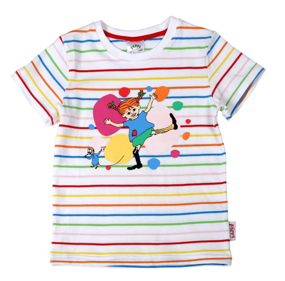 T-shirt Pippi Glad i gruppen Kläder   T-shirt   Toppar hos Astrid b44ee8c1e7343