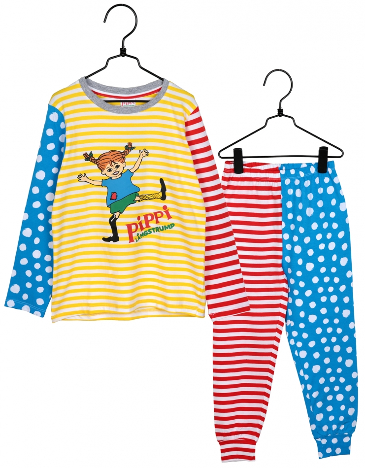 Pyjamas Pippi glädje f496219053b19