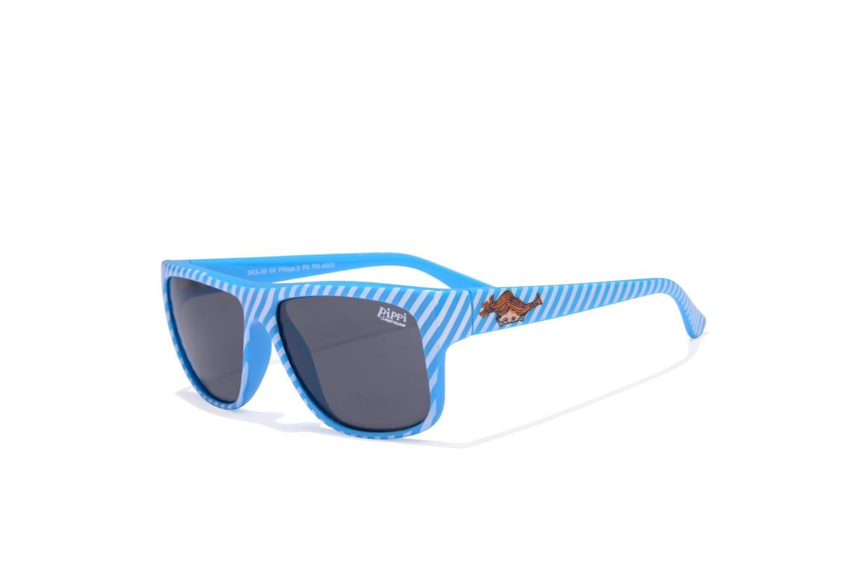 Sunglasses Pippi, bluewhite stripes